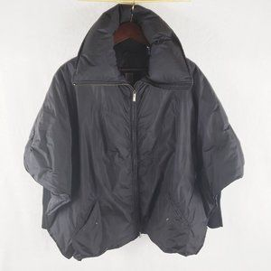 Add Down goose down butterfly poncho 4
